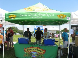 Sierra Nevada Beer Tent