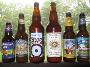 A six pack of summer brews