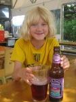 Em loved the Blueberry Soda