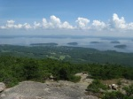 View of Bar Harbor and Frenchman Bay