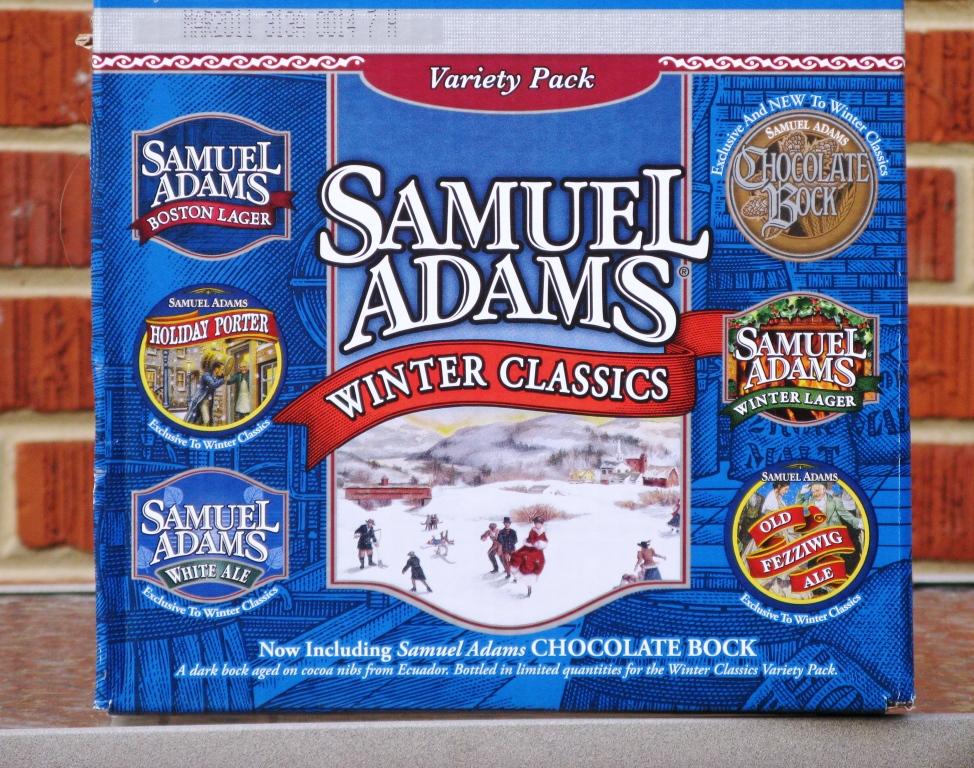 vs - White Christmas Sam Adams