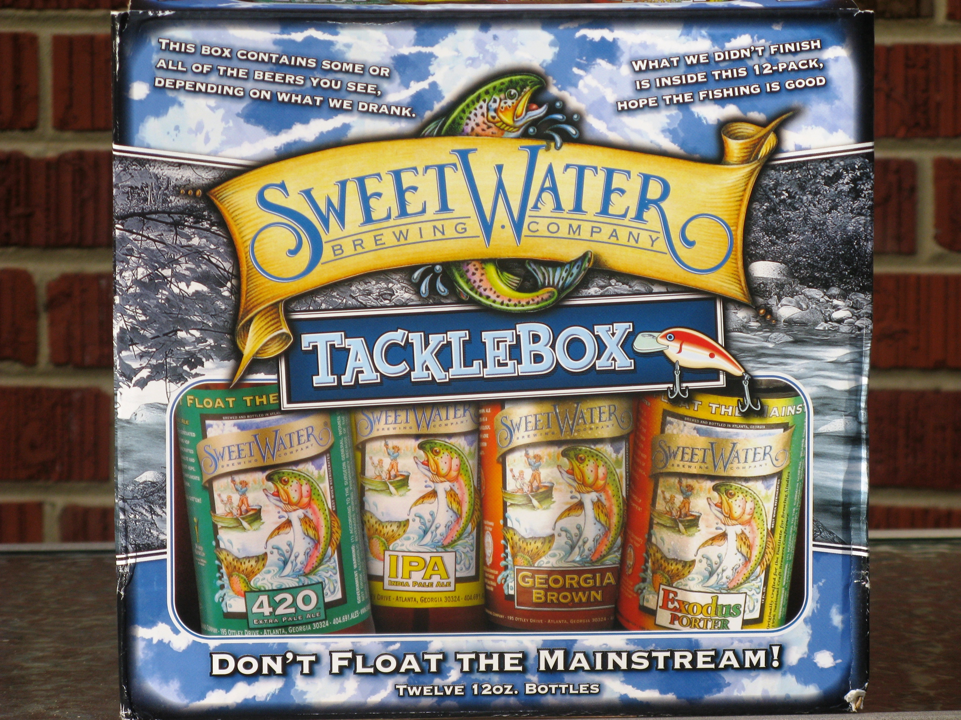 SweetWater Brewing Company Tackle Box | Boa Beer Blog