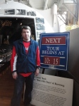 Waiting for the Sam Adams Brewery Tour