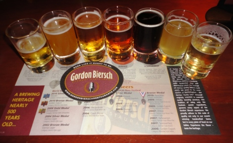 Gordon Biersch Rockville Sampler