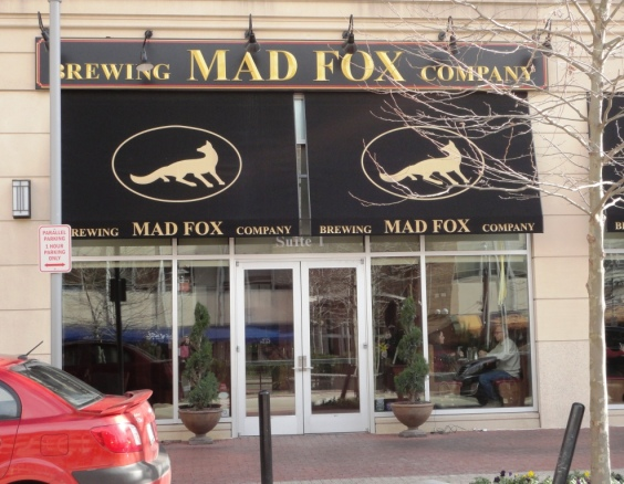 Mad Fox Brewing Company front