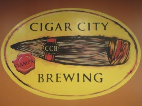 Cigar City Brewing sign