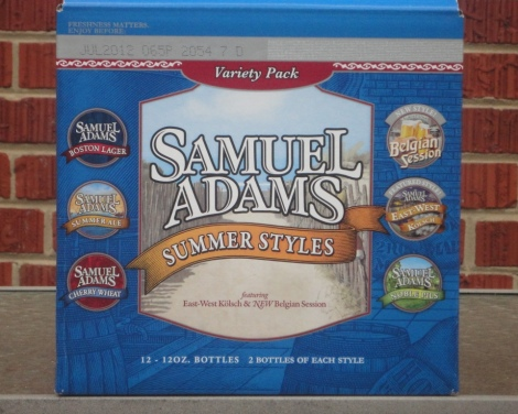Sam Adams Summer Styles 2012