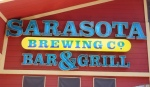 Sarasota Brewing Company sign