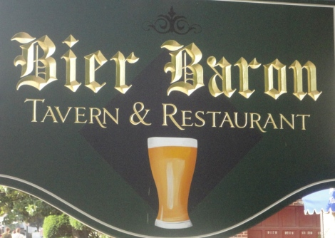 Bier Baron Sign