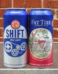 New Belgium Tall Boy Cans