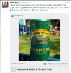 Sierra Nevada Tweet