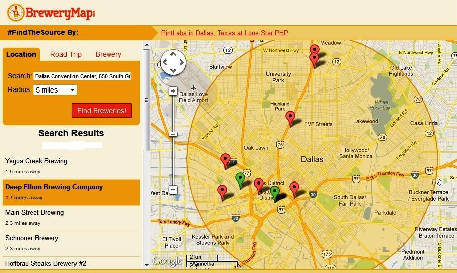 Guide To Finding Good Beer At The ASAE Annual Meeting In - Missouri breweries map