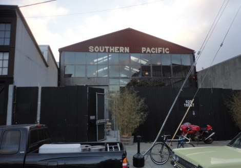 Southern Pacific Brewing Front