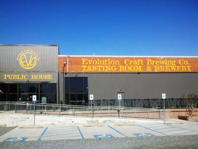 Evolution Brewing Company front
