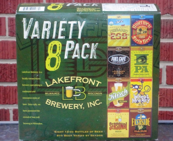 Lake Front Brewery Variety 8-Pack