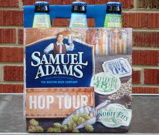 Samuel Adams Hop Tour