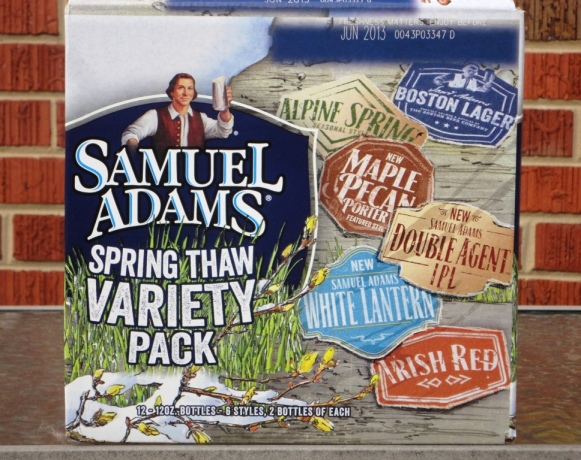 Samuel Adams Spring Thaw Variety Pack