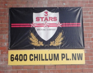 3 Stars Brewing Company banner