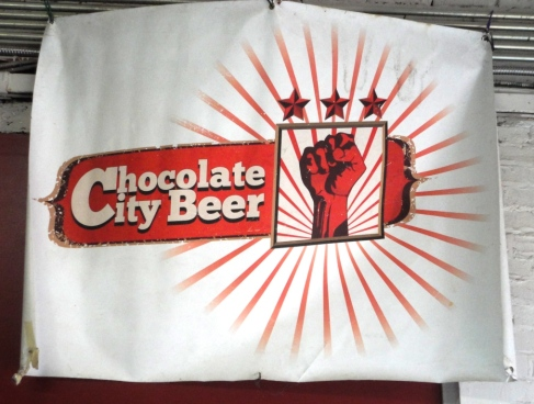 Chocolate City Beer Sign