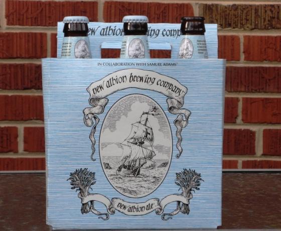 Samuel Adams New Albion Ale