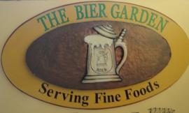 The Bier Garden Sign