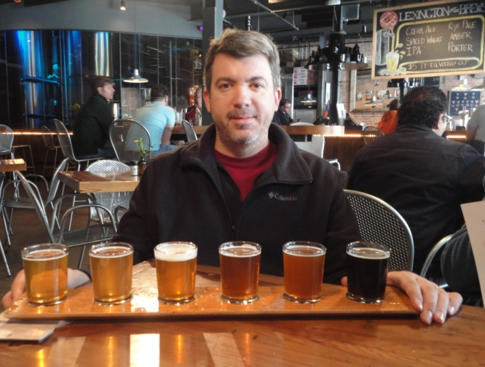 Lexington Avenue Brewery sampler