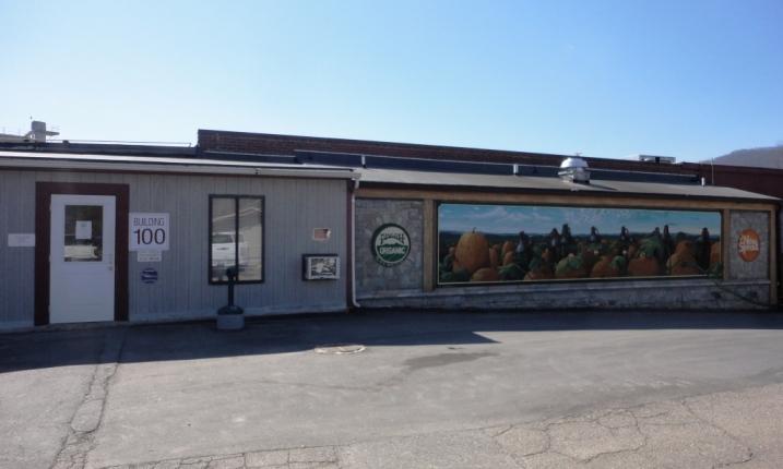 Pisgah Brewing Company entrance