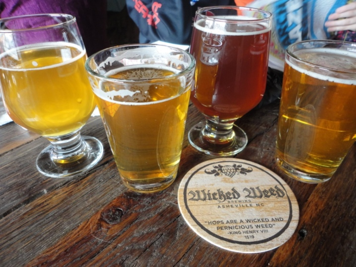 Wicked Weed Brewery Half-Pints