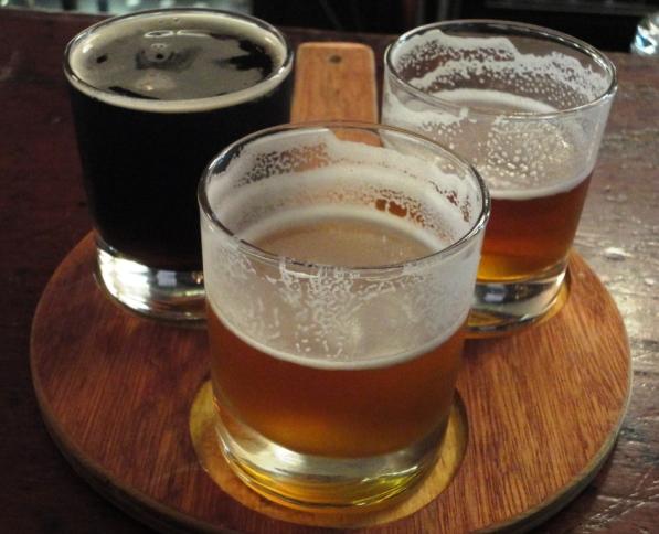 Racket of Galway Bay Brewery beers at Brew Dock