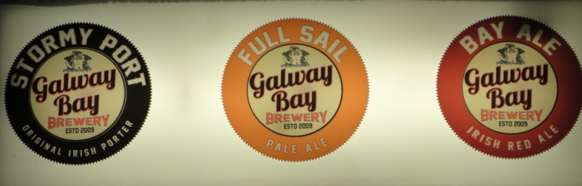 Galway Bay Brewery Sign