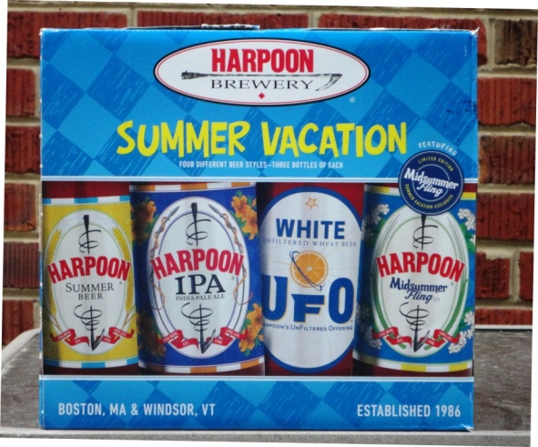 Harpoon Summer Vacation 2013