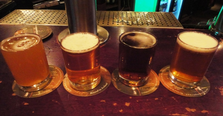 J.W. Sweetman Craft Brewery Sampler