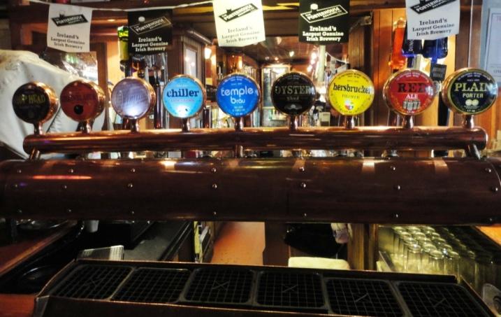 Porterhouse Brewing Company Beer Taps