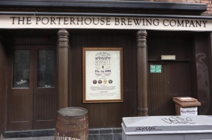 Porterhouse Brewing Company Front