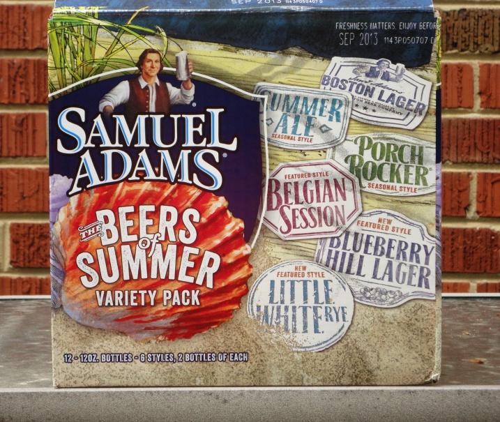 Samuel Adams The Beers of Summer
