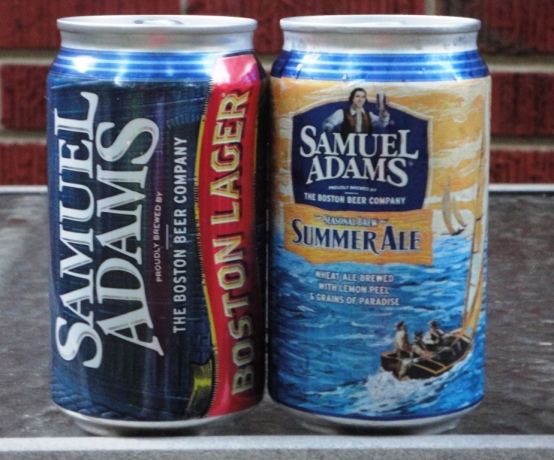 Sam Adams in a Can