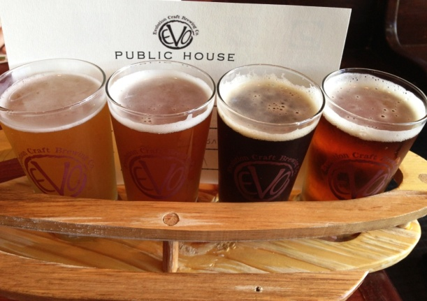 Evo Craft Brewing Co Sampler