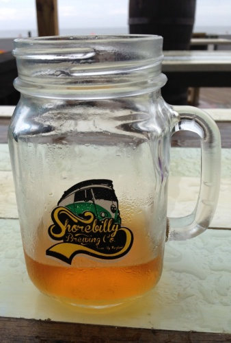 Shorebilly Brewing Company pint glass