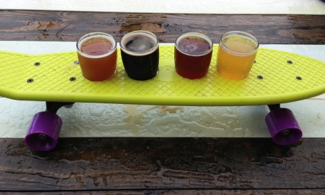 Shorebilly Brewing Company sampler