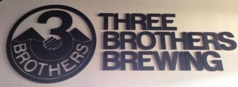 Three Brothers Brewing Company sign