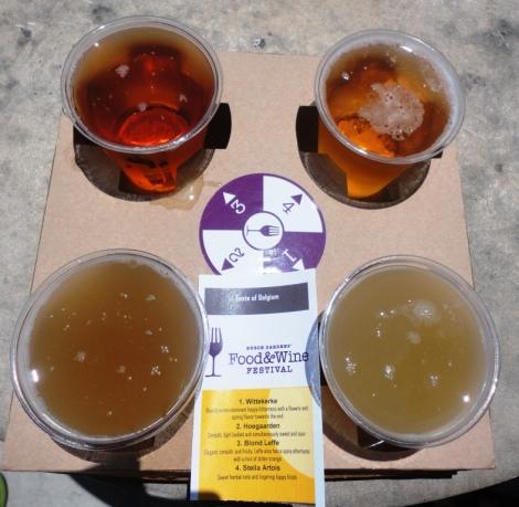 Busch Gardens Belgian Beer Tray