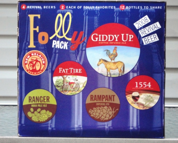 Folly Pack from New Belgium Brewing