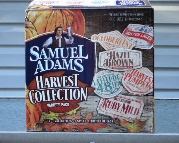 Sam Adams Harvest Collection 2013