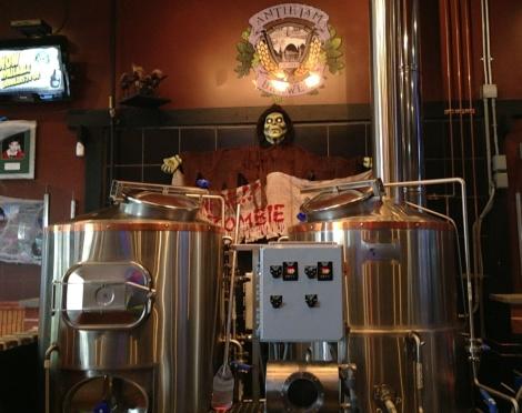 Antietem Brewery tanks
