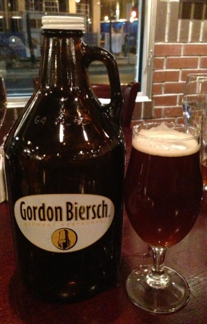Gordon Biersch Growler