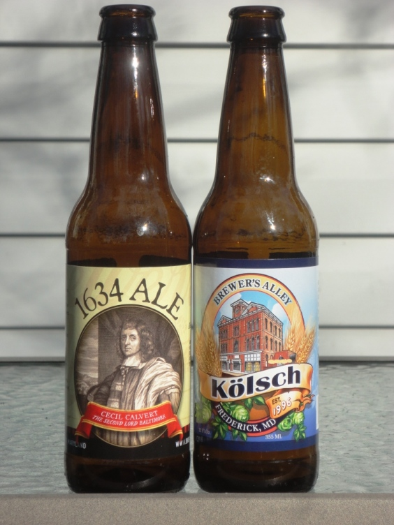 Brewer's Alley bottles