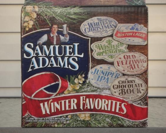 Sam Adams Winter Favorites 2013