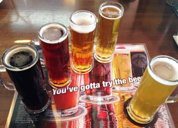 Cap City Beer Sampler