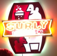 Surly Brewing Company sign