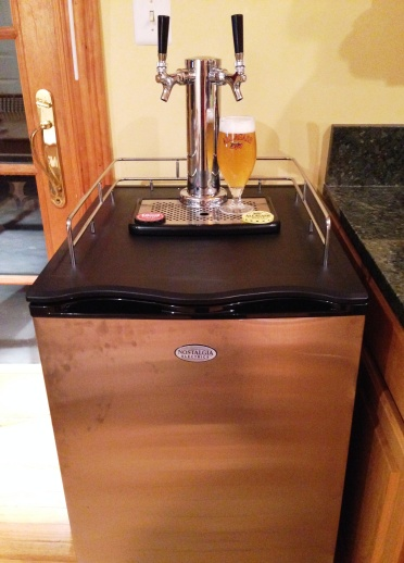 Allagash on the Kegerator